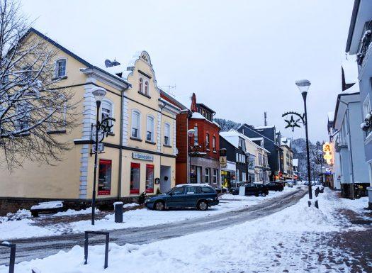 Bielstein im Winter. Foto: Günther Melzer